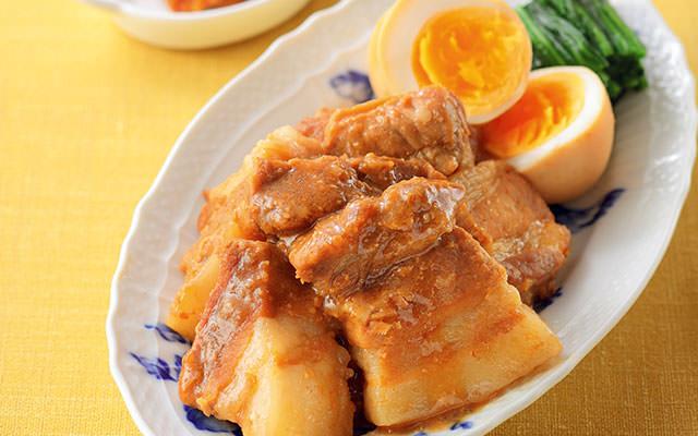 コクうま味噌の豚角煮