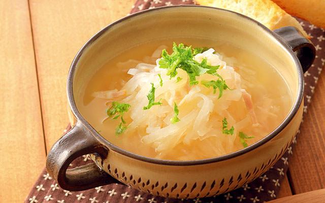 とろとろ大根スープ