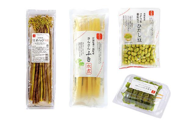 株式会社三和食品の商品ラインアップ